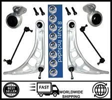 BMW 3 Series E46 [1998-2005] Front Lower Wishbone Arms, Bushes & Links KIT