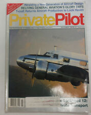 Private Pilot Magazine Lockheed 12 & Reliving Days November 1990 FAL 060515R2