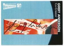 Thunderbirds 50 Cut Autograph Trading Card GA24 Gerry Anderson