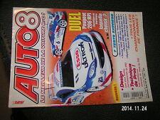 Revue Auto 8 n°159 + belles carrosseries Peugeot 206 HPI Elec ou thermique
