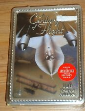 Century of Flight (DVD, 2004, 4-Disc Set) Boxed Tin NEW 100 years of Aviation