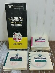 New HASTINGS Piston Ring Set 2C656 STD 6 Cyl 3.750 in.Bore AMC Jeep 258 225 232+