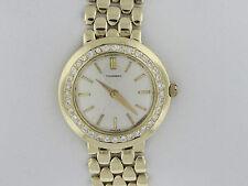 Tourneau 1/5  Carat Total Weight  Diamond 14K  Gold Ladies Luxury Watch