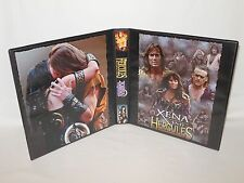 Custom Made Hercules Xena Trading Card Album Binder Graphics Only