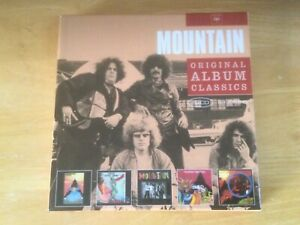 Mountain: Climbing/Nantucket Sleighride/Flowers of Evil/Twin Peaks/Avalanche 5CD