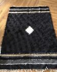 Vintage Area Rug 3x5 Goat Hair From Turkey