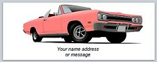 Personalized Address Labels Antique Car Buy 3 Get 1 Free (bo 908)