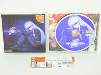 Dreamcast THE KING OF FIGHTERS 2001 with SPINE * Sega Japan dc