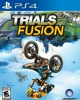 PLAYSTATION 4 PS4 GAME TRIALS FUSION BRAND NEW & FACTORY SEALED