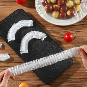 80PCS Disposable Food Bowl Cover Bags Dustproof Fresh- Keeping Food Storage  Hx