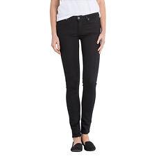 Lee Scarlett Regular Waist Skinny Jeans Black Size W28 L31 LF074 CC 02