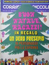 Corriere dei Piccoli n°51 1971 - Sergio Toppi - Hugo Pratt - I Puffi  [C22A]