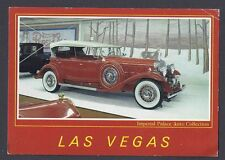 Ca 1988 Imperial Palace Auto Collection, 1931 Cadillac V16, Las Vegas Nv 4X6 Pp
