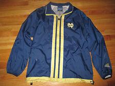 Vintage Adidas NOTRE DAME FIGHTIN' IRISH Nylon Windbreaker (SM) Jacket