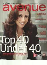 AVENUE, NOVEMBER, 2012  ( TOP 40 UNDER 40 ) ( DOWNLOAD OUR iPAD APP NOW ! )
