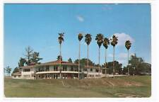 Golf Country Club Gainesville Florida 1960s postcard