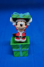 Mickey Mouse Christmas Present Bobble Figurine Disney