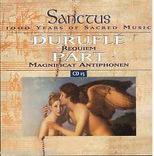 Duruflè: Requiem; Part: Magnificat Antiphonen, Missa Sillabica - CD