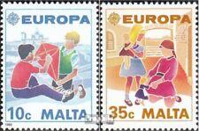 Malta 816-817 gestempeld 1989 Europa