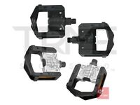 """Wellgo F265 Alloy Folding Bicycle Pedals - 9/16"""" 2DU System BLACK or SILVER"""