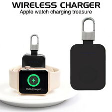 For Apple Watch Series 4 321 iWatch Portable Pocket Charger Charging Keychain UK