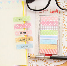 160 Pages Practical Post It Bookmark Sticky Notes Marker Memo Notepad Sticker