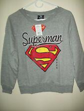 Women's Juniors DC Comics Graphic Long Sleeve Sweatshirt. Size M   NWT
