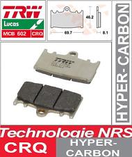 Plaquettes frein Avant TRW MCB602CRQ Carbone Sport  Suzuki GSXR 400 88-