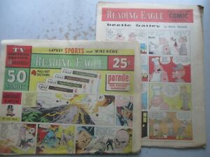 Reading (PA) Eagle COMPLETE Comics Section December 14, 1969 24 PAGES!