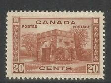 Canada 1938 King George VI 20c Fort Gary Gate--Attractive Topical (243) MH
