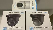 Amcrest UltraHd 4K (8Mp) Outdoor Security Ip Turret PoE Camera, 3840x2160 NightV
