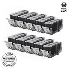 10 PGI-225PGBK 225 PGBK BLACK Printer Ink Cartridge W CHIP for Canon Pixma mx892