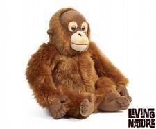 LIVING Nature ORANGO-AN393 morbido e Teddy Ape Peluche Scimmia Peluche Giocattolo