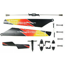 V913 RC Helicopter Repalcement Spare Parts Set Propeller Blades Balance Bar HCXM