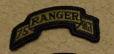 ARMY PATCH, 75TH RANGER REGIMENT ,MULTI-CAM,SCORPION, WITH HOOK LOOP FASTENER
