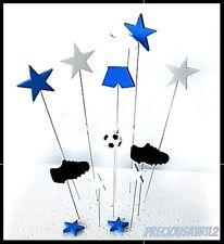 Soccer/Football Cake Topper/Cake Supplies/Birthday/Cupcake/Sports/Boy