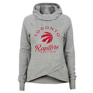 Outerstuff NBA Youth Girls (7-16) Toronto Raptors The Bridge Funnel Neck Hoodie