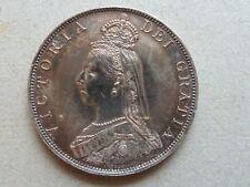 1887 Silver Crown Queen Victoria Bust