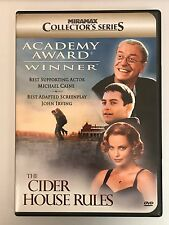 The Cider House Rules (DVD, 2000) Like New