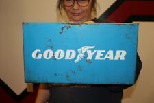 Vintage 1960's Goodyear Tires Tire Gas Station Oil Metal Sign