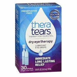Theratears Lubricant Eye Drops Single Use Containers 30