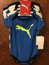 Puma Boy's 5 Piece Outfit Set 3-6 Months Blue
