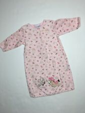 Vitamins baby girl pink nightgown 0-6 months