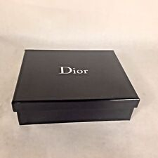 Dior Empty Box Black/Silver Color High Quality Dior Gift Jewelry Keepsake Box