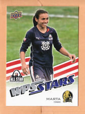 2010 Upper Deck MLS #195 Marta RC FC Gold Pride Brazil - Flat Shipping