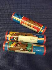 BK1- Lot Of 3 Rolls Scooby Sports Wallpaper Border 15yds Each