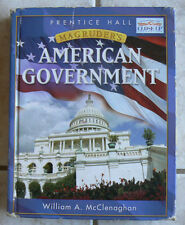 Prentice Hall Magruder's AMERICAN GOVERNMENT 2007 Text  McClenaghan