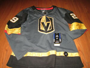 NHL VEGAS GOLDEN KNIGHTS FLEURY #29 JERSEY LADIES SIZE L BRAND NEW WITH TAGS EMB