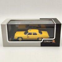 Premium X 1:43 Chevrolet BEL AIR New York Taxi 1973 Yellow PRD234 Diecast Models