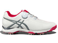 Asics Ladies Gel Ace Tour 3 BOA Golf Shoes - White/Grey